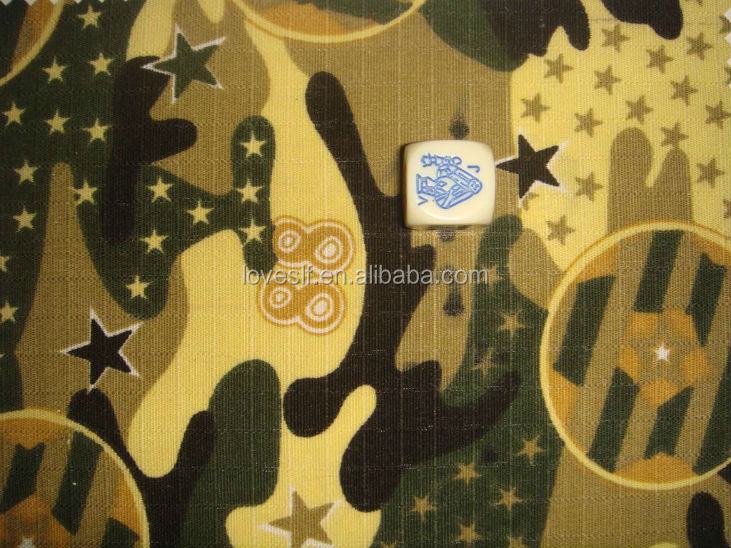 twill polyester cotton camouflage fabric