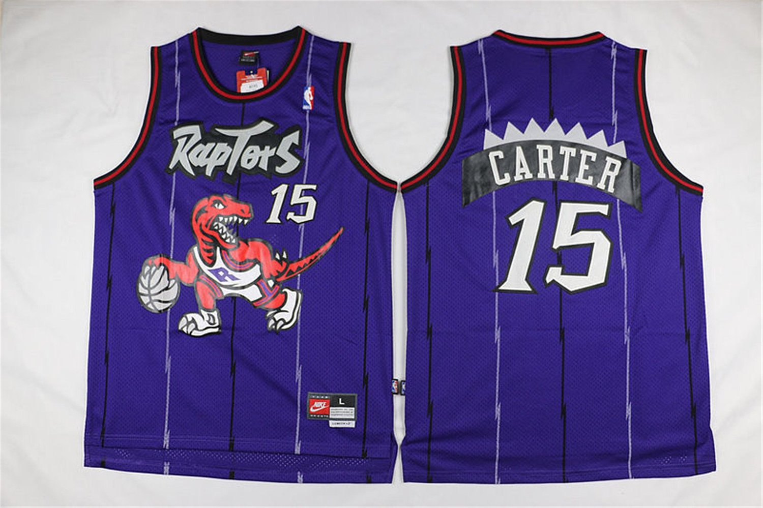 new concept 52396 8263b Buy Vince Carter #15 Toronto Raptors Purple Throwback Jersey ...