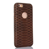 For iphone 6 plus genuine leather case, snake skin lines leather phone case for iPhone6Plus