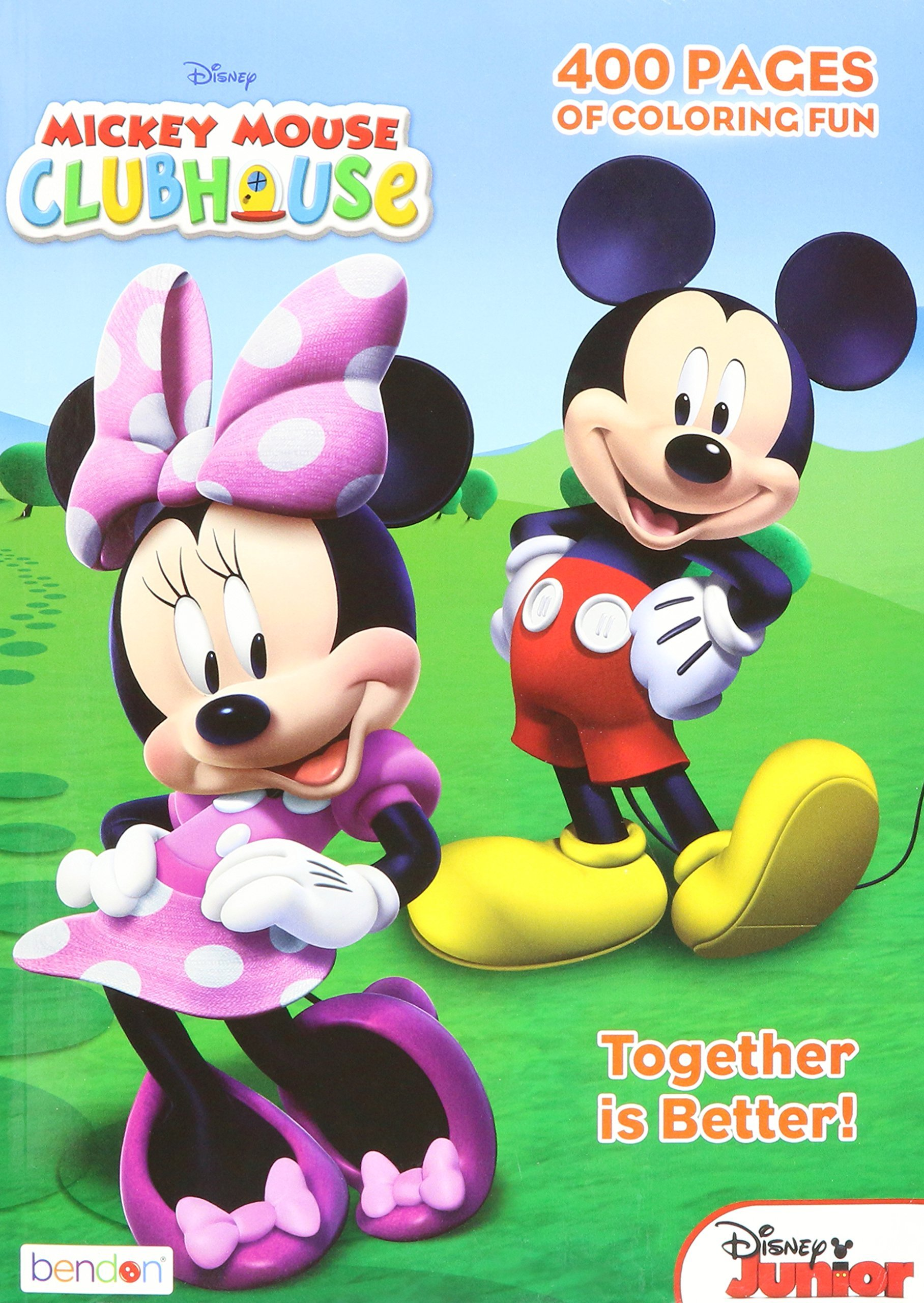 Mickey Mouse Clubhouse Gigantic Coloring Book
