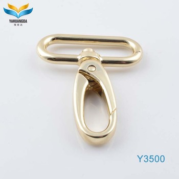 zinc alloy metal snap hook accessories for bags hook