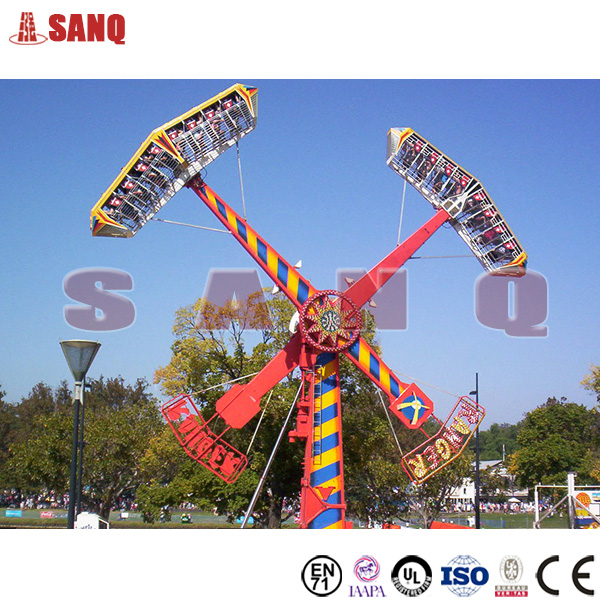 China Attraction Amusement park Kamikaze rides, Ranger rides for sale