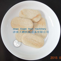 Jinan Eagle extruded savory wheat corn rice cracker processing production line machine