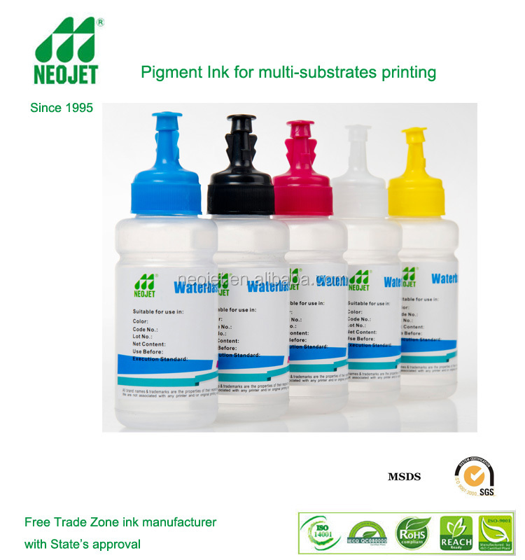 pigment ink made neojet ink manufacturer for wedding card printing