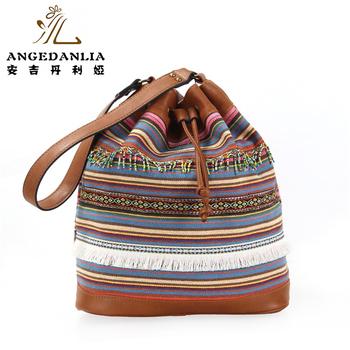 Guangzhou Manufacturer Ethnic Vintage Style Wayuu Mochila Bags