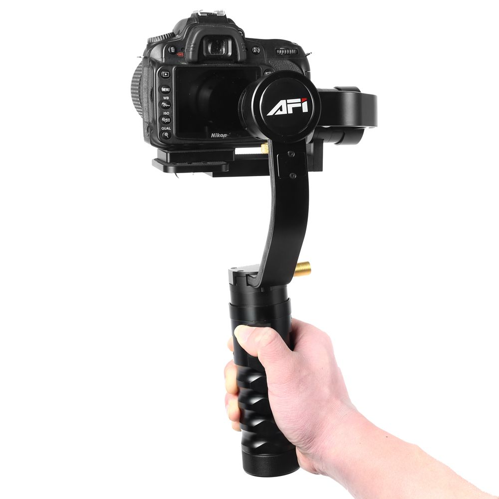Afi wholesale manufacturer easy 3 axis handheld dslr action camera gimbal stabilizer фото
