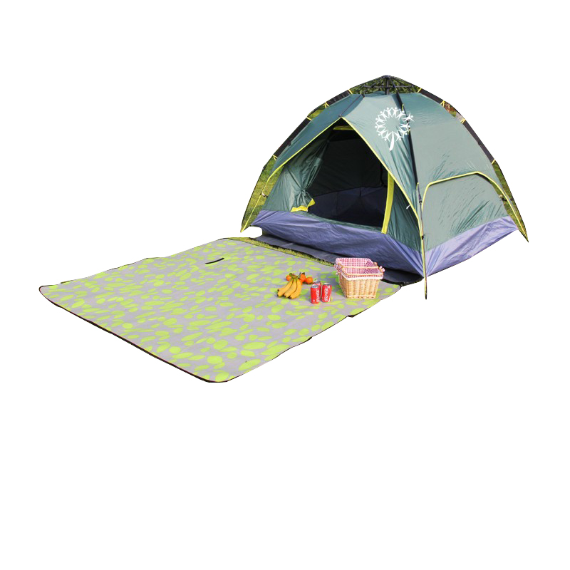 Dubbellaags 2 3 4 persoon outdoor pop up facet bell strand camping tent