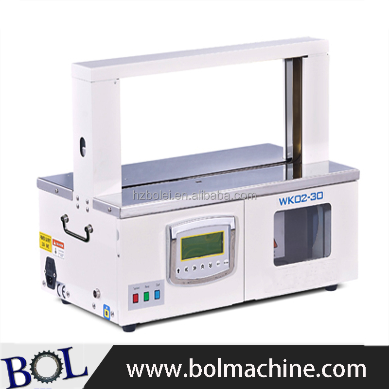 utomatic paper tape opp tape banding machine for banknote buddle packing machine