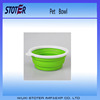 reuseable silicon pet feeder bowl