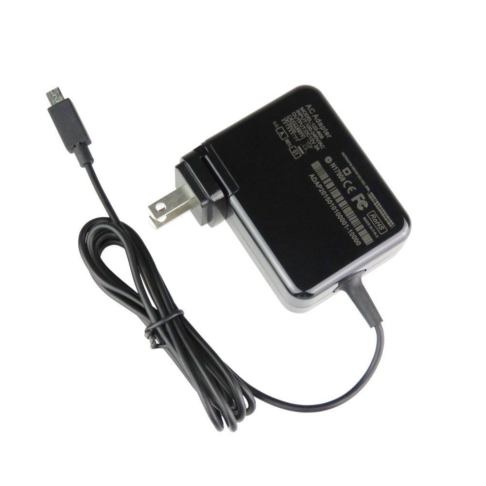 geek-m2016 12V 2A 24W Replacement Portable charger AC Adapter Power Supply for Asus Chromebook C201 C201P C201PA C201PA-DS01 C201PA-DS02,C100 C100P C100PA-DB01,P/N:ADP-24EW B