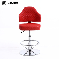 Modern Height Adjustable Swivel Casino Chair Bar Gaming chair
