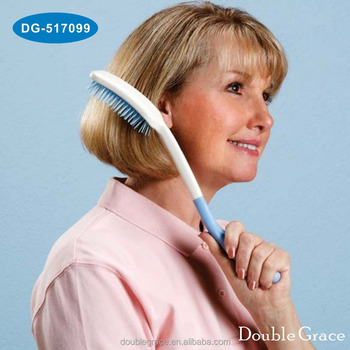 Long Reach Hair Brush Handle Comb Senior