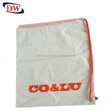 PE sidepack drawstring bag plastic for laptop