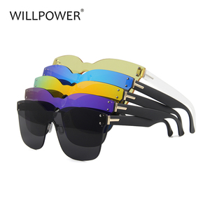 One Piece Italy Design Plastic CE UV400 Sun Glasses Sunglasses 2018