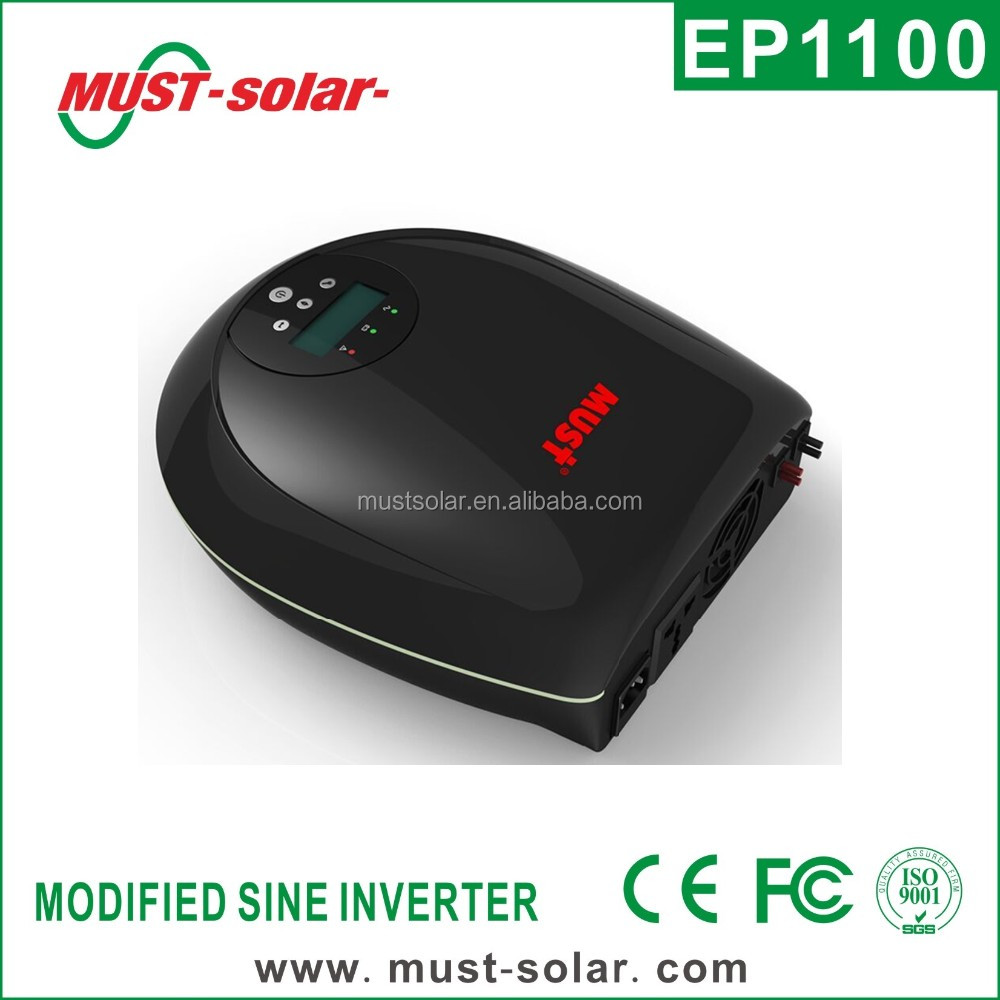 Top item from Must-solar EP1100 pro 12V 720W high frequency Power inverter system most popular items