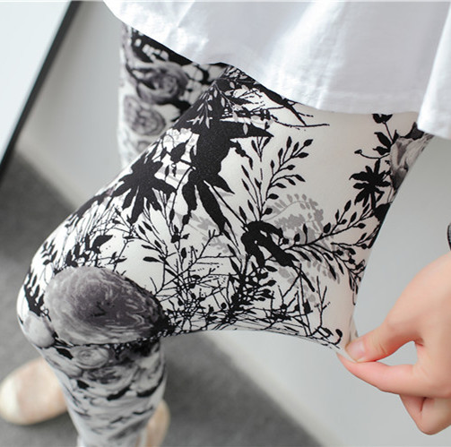 92% polyester 8% spandex good stretch fashion lady leggings stock