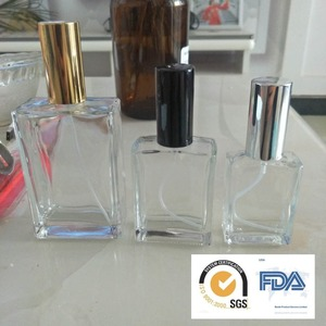 Clear perfume bottle glass bottle wholesale glass perfume bottle100ml-500ml Made to Order as Buyers Samples