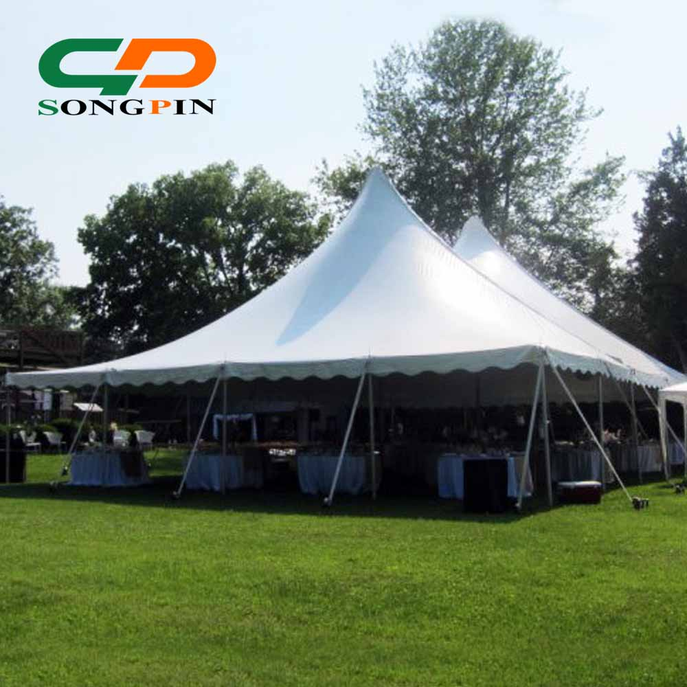 Alibaba & Hot Sale High Peak Circus Marquee 150 People Dining Center Pole Tent 40x60 - Buy Center Pole TentCircus Tent150 People Dining Century Tent Product ...