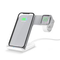 Alibaba hot products airpower wireless charger for iphone air vent phone holder apple watch and