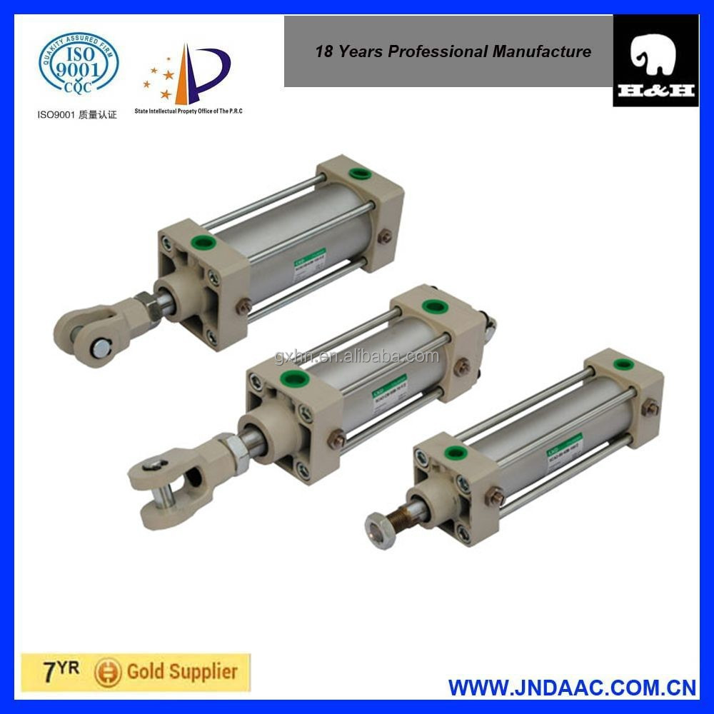 SI SID SIJ 200bore 400stroke iso 6431 S double acting pneumatic cylinder