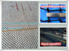 4.4cm mesh nylon with UV stablized heavy duty flat cargo net used for feeding horse,deber de carga pesada nylon red plana