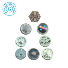 High Quality custom Gold Garment Hardware Sewing Button