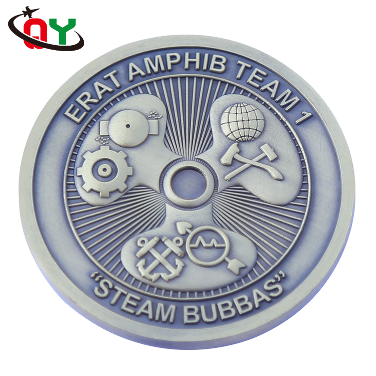 China factory price OEM ODM brass copper zinc alloy iron aluminum antique plated souvenir antique coins ers