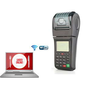 WIFI GPRS Thermal Receipt Mobile POS For Money Transfer Mobile Topup and Lotto bus Ticket printing