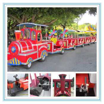 Shopping Mall Amusement Outdoor Lighted Christmas Train For Sale ...