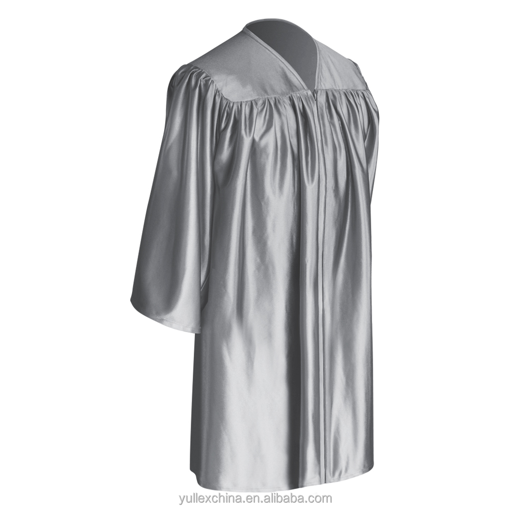 Silver Child Graduation Gown - Buy Kids Gown,Preschool Gown ...