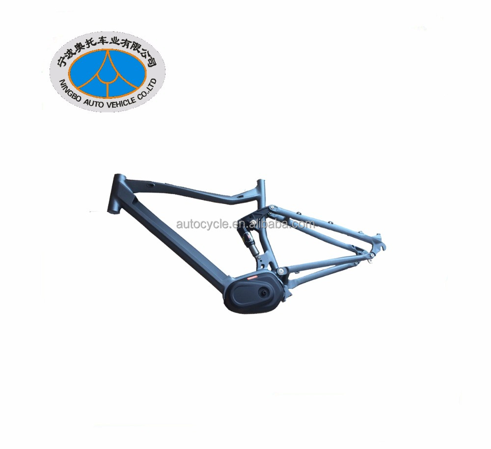 Aluminum mid drive motor electric bike frame made by the factory with over 20 years experience in making cycle frames