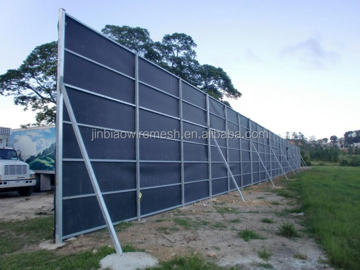 Temporary Noise Barrier For Construction Sound Reduction Buy Temporary Noise Barriers Noise