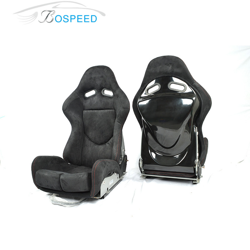 Most popular Bospeed SPS Car racing seat with carbon fiber / frp/kevlar seat back