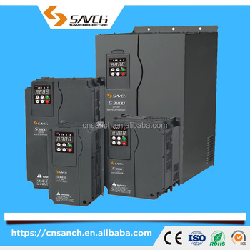 SANCH 7.5kw 380v three phase permanent magnet synchronous asynchronous motor drive inverter