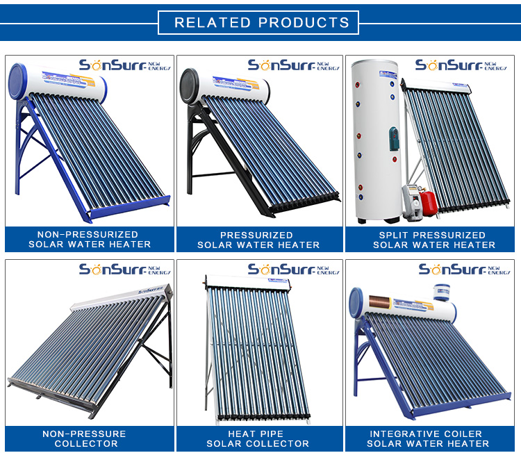 Separate Tube High Tech Solar Water Heater Controller Sr609C