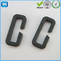 Factory Made Rectangle Ring Hard Plastic Buckle Loop