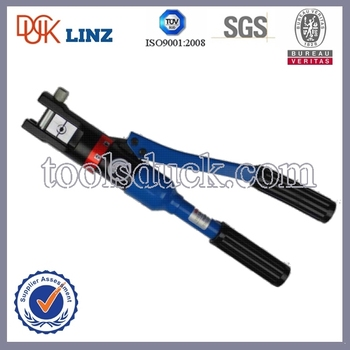 120sqmm Manual Hydraulic Press Clamp / Wire Terminal Crimper / Cable ...