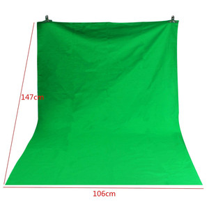 Backgrounds Cloth 1.5x1M Green Photography Cloth Chromakey Backdrop 100% Cotton Muslin Photo Studio Background