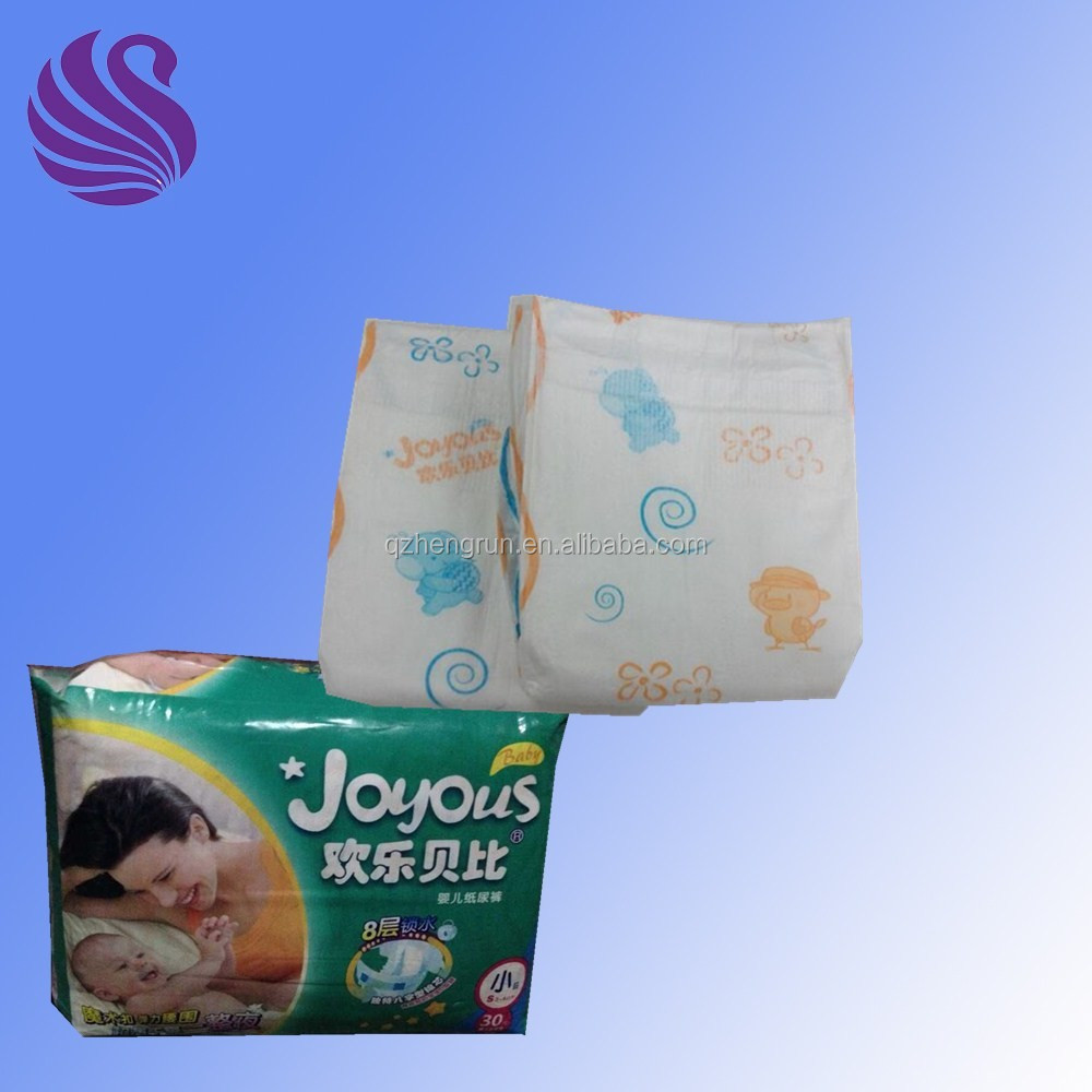 Natural Breathable Cute Baby Diaper Baby Products, Super Baby Diape