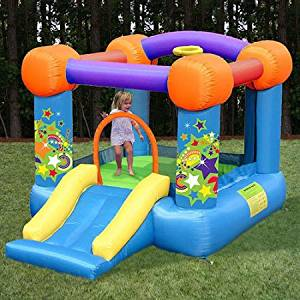 KidWise Party Time Bounce and Slide Bounce House
