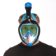 High quality mask snorkel full face diving kit dive gear scuba set
