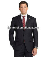 Best selling two buttons business top brand mens suits
