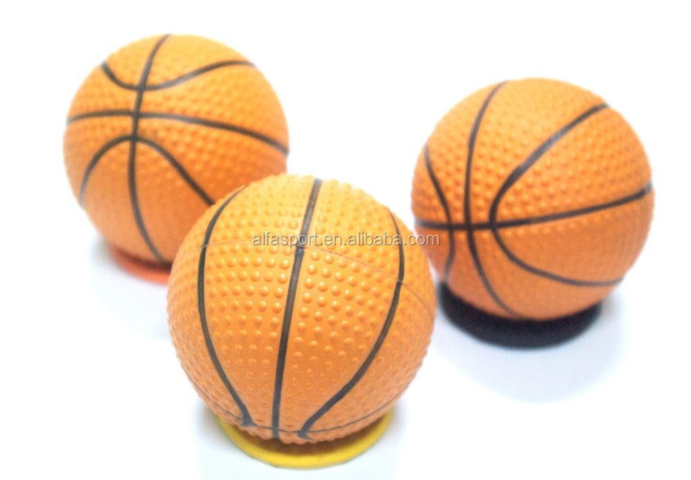 Promotion Rubber High Bounce Ball- bumped basketball