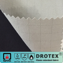 Twill breathable cotton flame resistant fabric factory