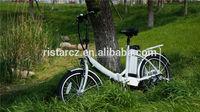 Compact Folding Quick Foldable Mini Folding Electric Bike RSEB636