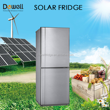 Top fridge bottom freezer combi 24v solar dc fridge/ refrigerator from manufacturer R-200BK