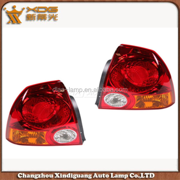 oem hotsale high quality accent 03-05 tail light with low price
