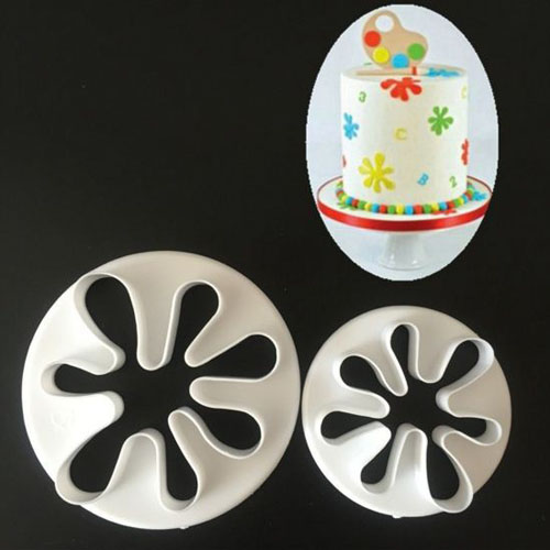 Baby hands palm shaped gum paste cutter cupcake decorating molds