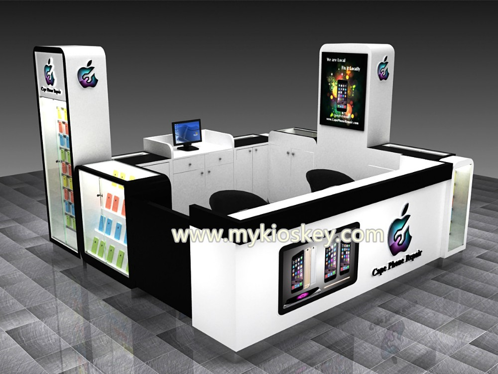 Shopping mall cell phone accessories kiosks for mobile for Mobili kios