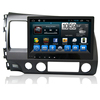 Kaier Wholesale 2 din Android 8 Car dvd player Central multimedia for Honda Civic 2009 2008 2007 car Stereo GPS Navigation